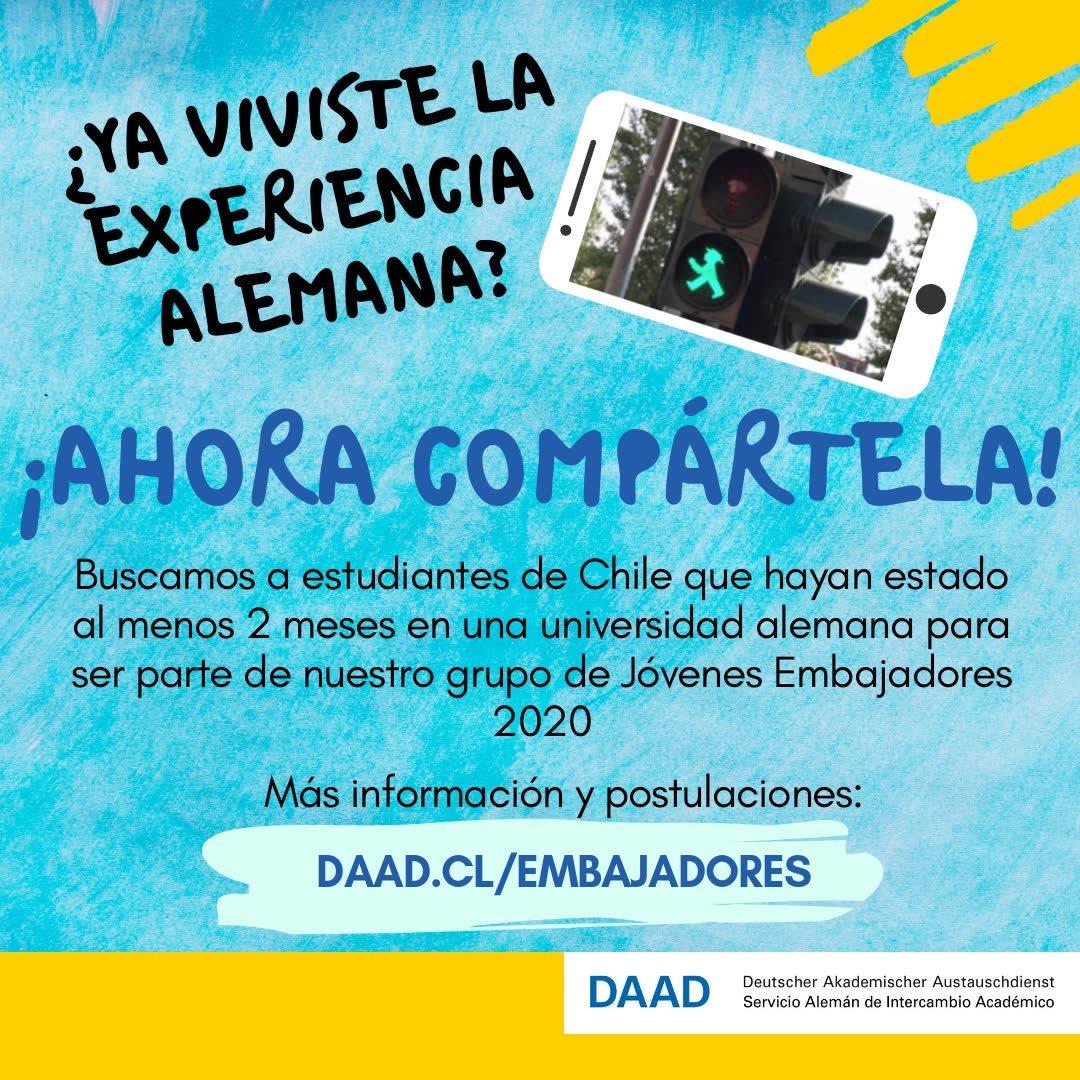 DAAD Chile | Página web del Centro de Información del DAAD